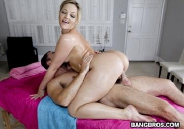 Imagen Alexis Texas necesitaba un masaje y acabó relajada con sexo