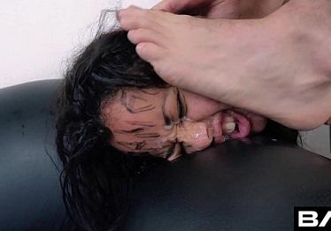 Imagen Holly Hendrix grabó un casting de sexo salvaje con Bang